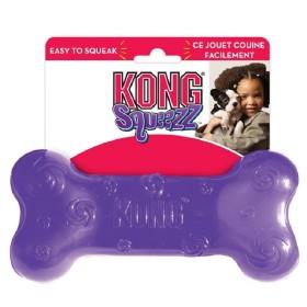 KONG SQUEEZZ BONE MEDIUM PSN2 Kong Juguetes