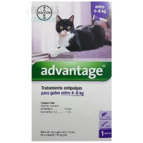 PIPETA ADVANTAGE GATO 4  A 8 KG Advantage ADVANTG4-8