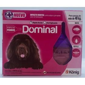 PIPETA DOMINAL PERROS 40KG MAS Dominal 33370023