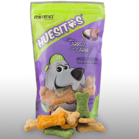 GALLETAS HUESITOS MEGA 0.500GR MIMMA Snacks