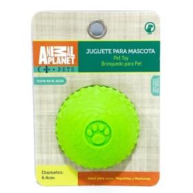 JUGUETE PELOTA MACIZA AP-D794-017 VERDE ANIMAL PLANET Juguetes