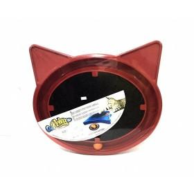 RASCADOR PARA GATO FURACAO SUPER CAT RELAX POP ROJO  FP0831