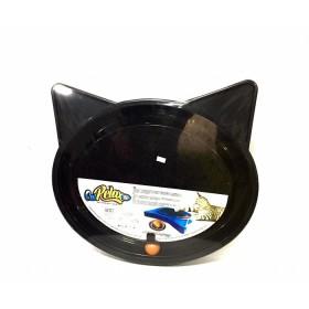 RASCADOR PARA GATO FURACAO SUPER CAT RELAX POP NEGRO  FP0803