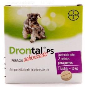 DRONTAL DESPARASITANTE PERROS MEDIANOS 2 TBL. Drontal 33010061