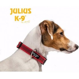 COLLAR JULIUS -K9 SMALL 20MM X 27-42CM ROJO Julius-K9 220CG-R