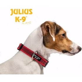COLLAR JULIUS -K9 SMALL 25MM X 39-65CM ROJO Julius-K9 225CG-R