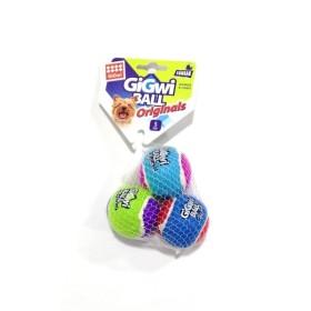JUGUETE MASCOTA GIGWI CRAZY BALL SMALL X 3 COD. 6119 GiGwi Juguetes