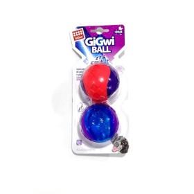 JUGUETE MASCOTA GIGWI SQUEAK BALL MEDIUM X 2 COD. 6410 GiGwi Juguetes