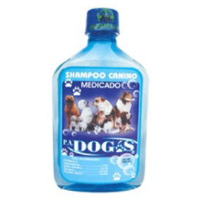 SHAMPOO MEDICADO P.A. DOGS 380 ML  7862103670022-A