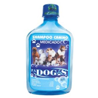 SHAMPOO MEDICADO P.A. DOGS 380 ML  7862103670022-A