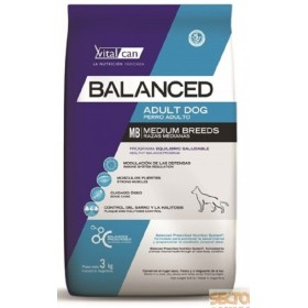 BALANCED ADULTO RAZA MEDIANA  3KG Balanced BADRM01